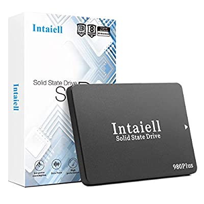 512GB SSD- SATA III 6Gb/s 2.5 Inches 3D NAND Flash Internal Solid State Drive for Gaming Computer, Notebook, PC (512GB)