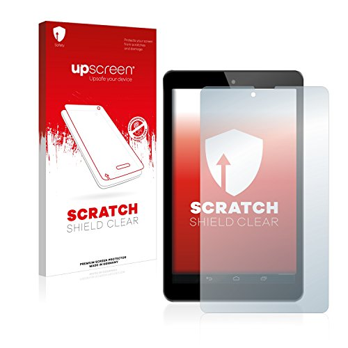 upscreen Schutzfolie kompatibel mit Odys Connect 7 Pro – Kristallklar, Kratzschutz, Anti-Fingerprint