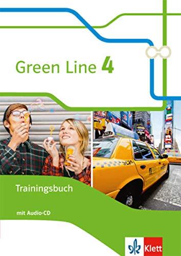 Green Line 4: Trainingsbuch mit Audios Klasse 8 (Green Line. Bundesausgabe ab 2014)
