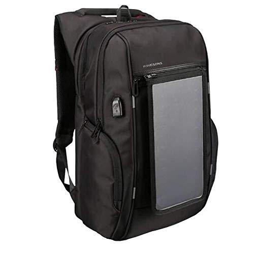 JYTBB Outdoor-product/modieuze hoogwaardige USB solar laadrugzak laptop rugzak tassen outdoor reisrugzak heren business rugzak 17.1inch zwart