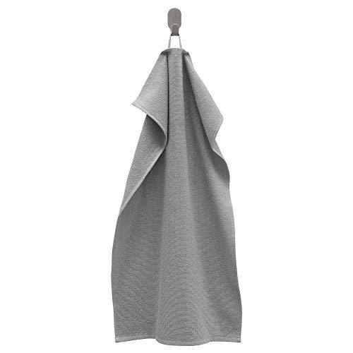 IKEA ASIA KORNAN Handtuch, grau, 39,9 x 70,1 cm