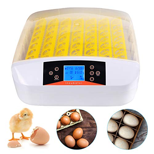 Aceshin Automatic 56 Eggs Hatcher Incubator with Temperature Control, Digital Poultry General Purpose Incubators for Chickens Ducks Birds