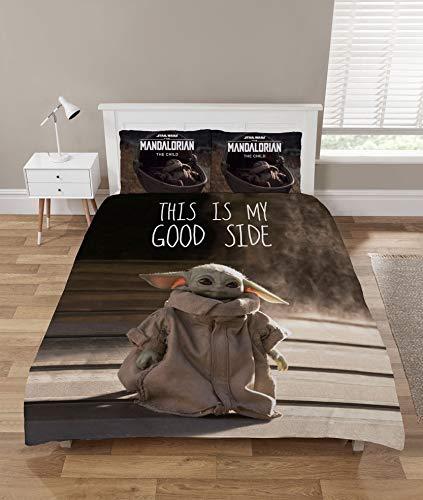 The Mandalorian Baby Yoda Funda Nordica Cama 135 y Doble,