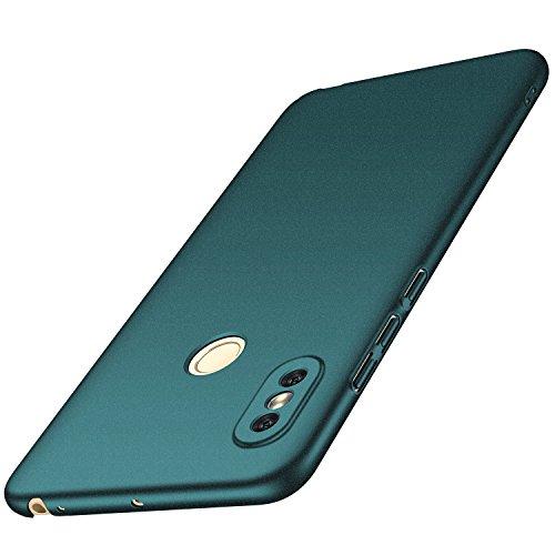 anccer Xiaomi Mi Max 3 Hülle, [Serie Matte] Elastische Schockabsorption & Ultra Thin Design für Xiaomi Mi Max 3 (Kies Grün)