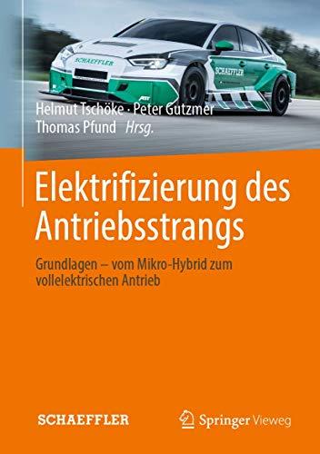 Elektrifizierung des Antriebsstrangs: Grundlagen - vom Mikro-Hybrid zum vollelektrischen Antrieb (ATZ/MTZ-Fachbuch)
