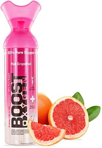 Boost Oxygen Pink Grapefruit, 9ltr, Over 150 uses, Fresh and Vibrant Summer Taste, Boosts Metabolism - 1 count