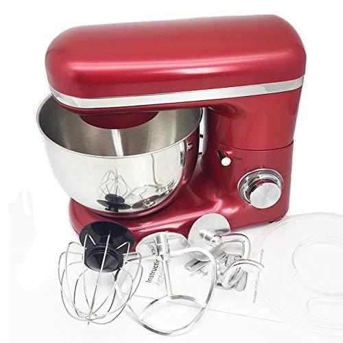 QWERTOUY 220V / 1500W elektrische kneedmachine, professionele eieren, blender, 4 liter, voor in de keuken