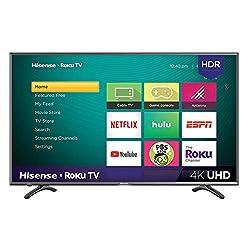 top rated Hisense 43R7E 43inch 4K Ultra HDRoku Smart LED TV HDR (2019) 2021