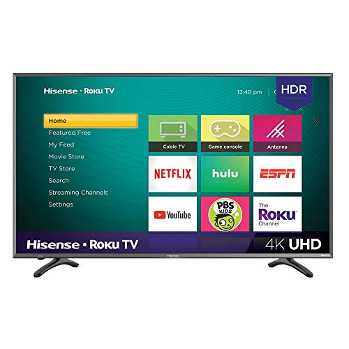Our #10 Pick is the Hisense 43R7E 43-inch 4K Ultra HD HDR TV