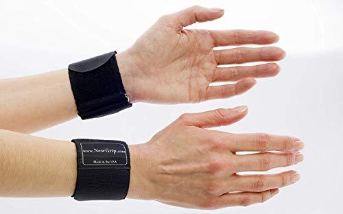 "NewGrip Wrist Support Wraps (Medium (6""-7.25""))"