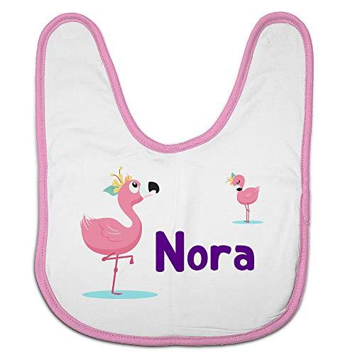 LolaPix Babero Infantil. Regalos Personalizados con Nombre. Baberos para bebé Personalizados. Varios diseños. Baby Flamenco