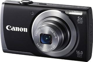 Canon PowerShot A3500 Digitalkamera (16 MP, 5-fach opt. Zoom, 7,6cm (3 Zoll) Display, bildstabilisiert, DIGIC 4 mit iSAPS) schwarz (B00AY9NQMG)   Amazon price tracker / tracking, Amazon price history charts, Amazon price watches, Amazon price drop alerts