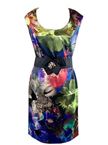Joseph Ribkoff Women's Cocktail Dress Multi-Coloured Multi-Coloured - Multi-Coloured - 14