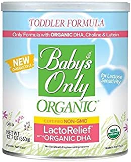 Baby's Only LactoRelief with DHA & ARA Toddler Formula – Non GMO, USDA..