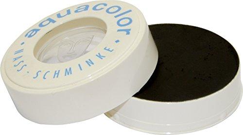 Aquacolor Naßschminke 30 ml Farbe 071 schwarz
