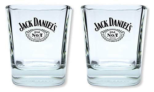 JACK DANIELS 2 Stück Original Tumbler Gläser - aktuelle Version