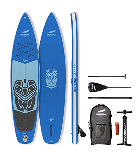 Indiana 11'6 Family Pack BLUE with 3-piece Fibre/Composite Paddle