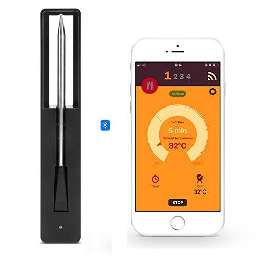 Fleisch Food Steak Thermometer Wireless Digital Bluetooth Barbecue Zubehör für Backgitter Grill BBQ Raucher Rotisserie