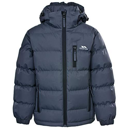 Trespass - Tuff - Veste à capuche détachable - Garçon - Gris - 2 ans (92 cm)