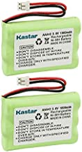 Kastar 2-Pack Ni-MH Battery 3.6V 1000mAh Replacement for Motorola Digital Video Baby Monitor MBP667CONNECT, MBP667CONNECT-2, MBP667CONNECT-3, MBP667CONNECT-4, MBP667CONNECTPU, MBP668CONNECT