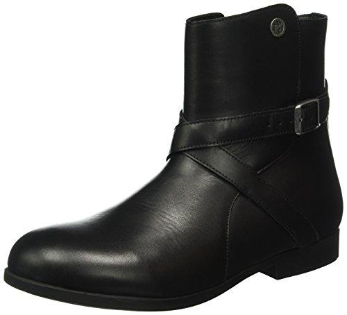 BIRKENSTOCK Shoes Damen Collins Kurzschaft Stiefel, Schwarz (Black), 38