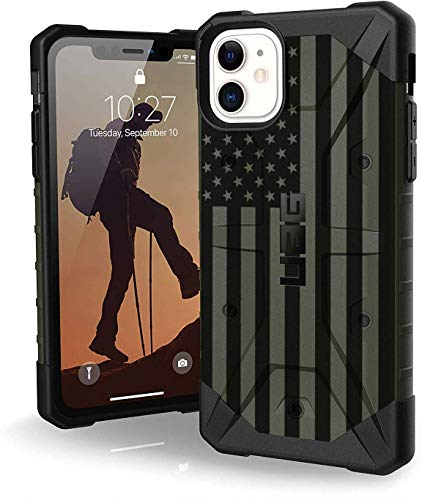 Ego Tactical UAG Urban Armor Gear Limited Edition Subdued Reversed US Flag on ODG Pathfinder Case for Apple iPhone 11 PRO MAX 6.5' Series