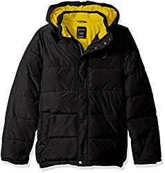 cheap Nautica Toddler Waterproof Bubble Jacket, Storm Cuffs, Signature Black, 2T
