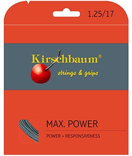 Kirschbaum Saitenset Max Power, Anthrazit, 12 m, 0105260217500010