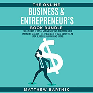 The Online Business & Entrepreneur's Book Bundle cover art