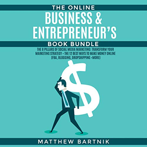 The Online Business & Entrepreneur's Book Bundle audiobook cover art