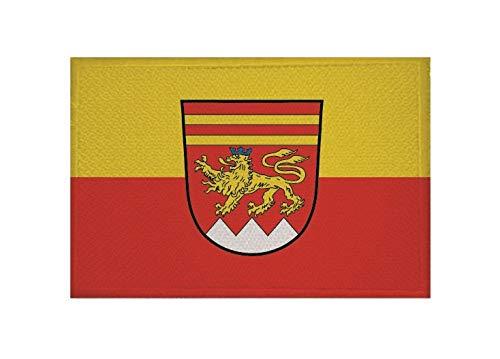 U24 Aufnäher Krombach Fahne Flagge Aufbügler Patch 9 x 6 cm