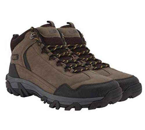 Khombus Men's Hiker Boot (Brown, Numeric_11)