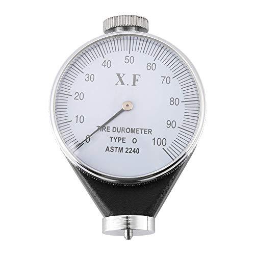 Durometro, Shore tipo A/O/D, durometro per pneumatici in gomma, durometro, dispositivo di misurazione 0-100 (tipo O)