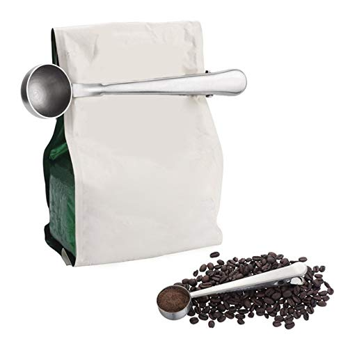 Find Discount Coffee Scoop With Clip Coffee Tea Measuring Scoop Stainless Steel Cup Coffee Measuring...