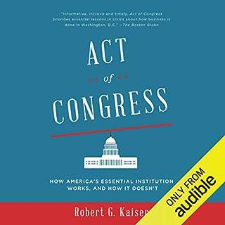 Act of Congress audiobook cover art