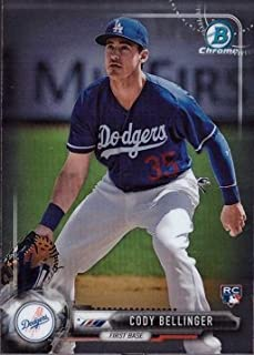 2017 Bowman Chrome Baseball #27 Cody Bellinger Rookie Card