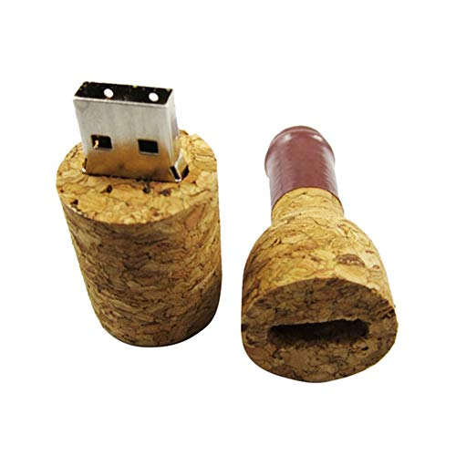 Botella de vino tinto USB Flash Drive Pen Drive Durable Pen Drive Mini USB Flash Memory Stick Tarjeta 8GB 16GB 32GB 64GB