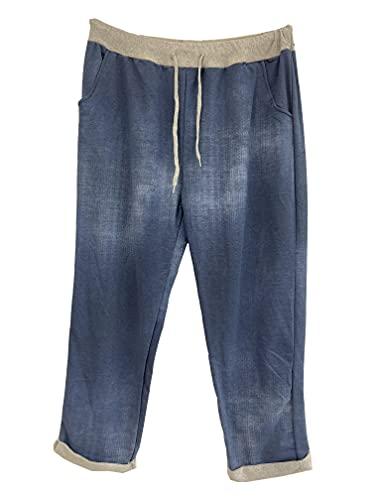 stickerbeauty Pantalones de chándal para mujer,...