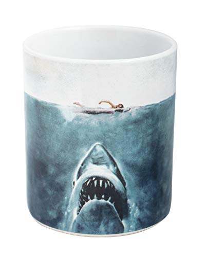 Joy Toy Jaws - Der Weisse Hai Keramiktasse, Keramik, bunt, 9 cm, 2