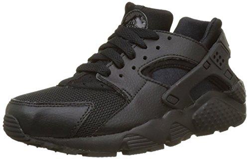 Nike Huarache Run (Gs), Scarpe da Corsa Bambino, Nero (Black/black Black), 36.5