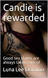 Candie is rewarded: Good sex slaves are always taken care of (Candie is a Sex Toy Book 5)