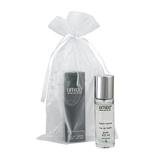 UMIDO Beautyset   1x Parfüm 30 ml homme/man   1x Organza-Säckchen   Herren Eau de Toilette Spray   Duft für Männer   Herrenduft (6-BYS)
