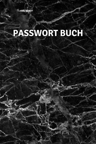 Passwort Buch: Notizbuch für Passwörter, sämtlicher...