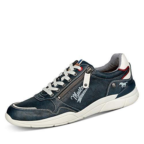MUSTANG Herren 4138-306 Sneaker, Blau (Navy 820), 43 EU