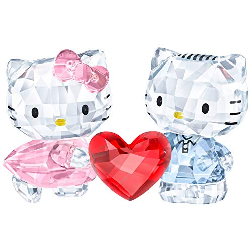Swarovski Hello Kitty & Dear Daniel Kristallfigur, Kristall, Mehrfarbig, 8.2