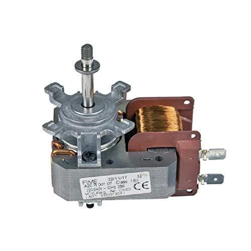 Horno de aire caliente Ventilador para horno 25W 220–240V AEG 389081304/5
