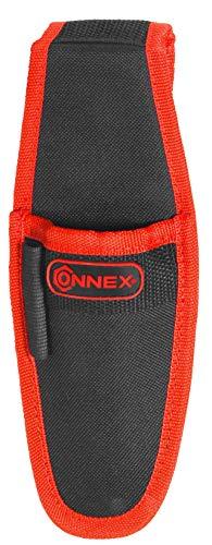 Connex COX952076 Gereedschapshouder, extra elastiek voor stiften & co, met riemlus, van polyester, onderhoudsvriendelijk, messenschede, gereedschapstas voor riem, riemtas, COX952076