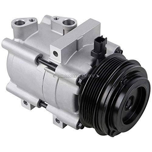AC Compressor & A/C Clutch For Ford E150 E250 E350 E450 E-150 E-250 E-350 E-450 Econoline Club Wagon & MV-1 Access Van - BuyAutoParts 60-02173NA NEW