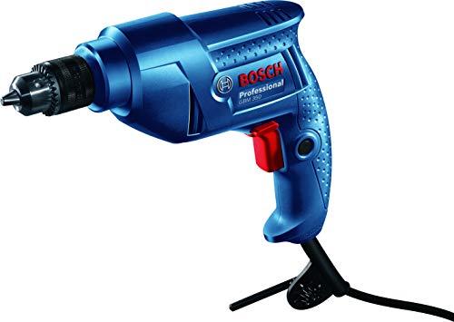 Bosch Gbm 350 Professional Rotary Drill, Wood & Metal Work (350 Watt Blue),Corded Electric, 1 Pack