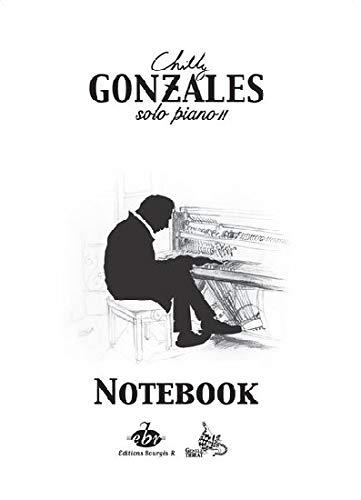 Chilly Gonzales-Notebook - Solo Piano II-Klavier-BOOK
